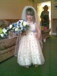 Rose as bride