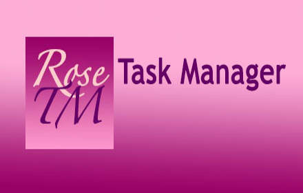 Rose Task manager Logo
